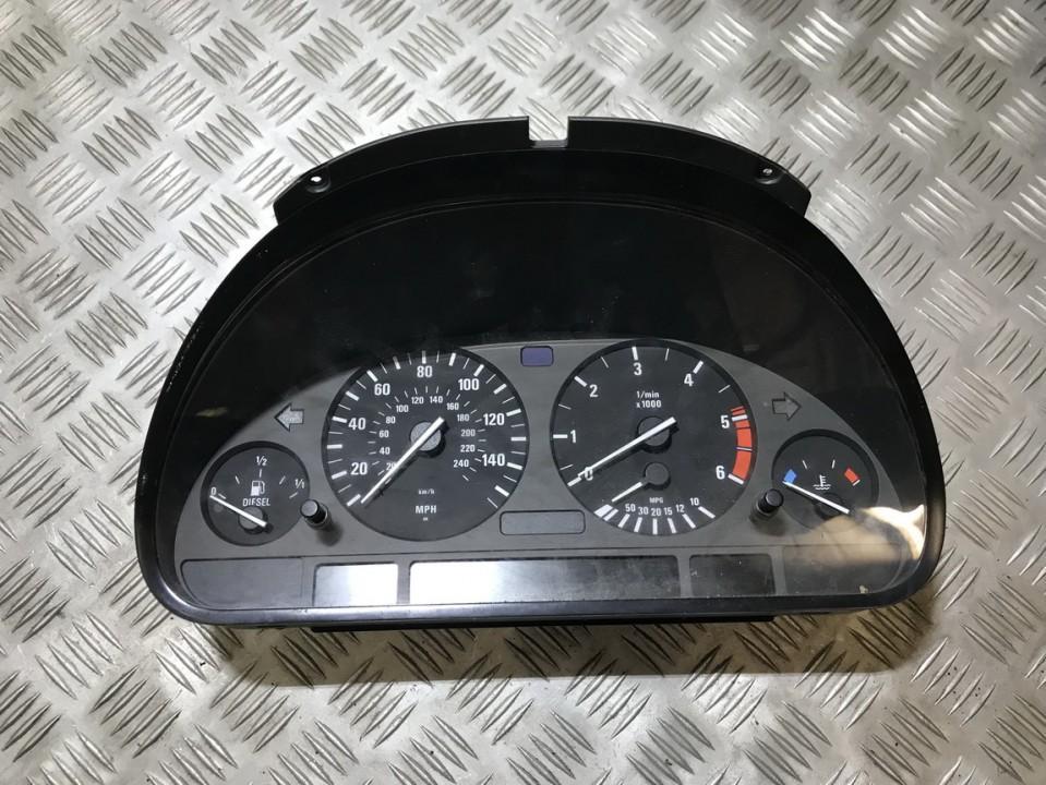 Spidometras - prietaisu skydelis 62118369040 62.11-8369040, 008630027422, 87001329 BMW 5-SERIES 1997 2.5