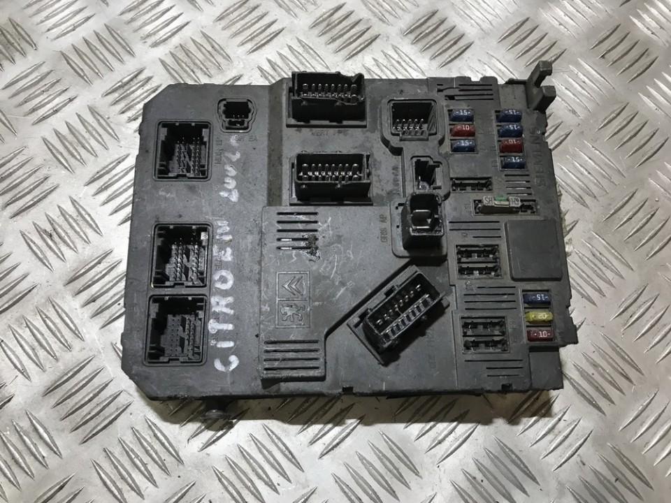 Блок комфорта 9649627780 used Citroen XSARA PICASSO 2003 1.8