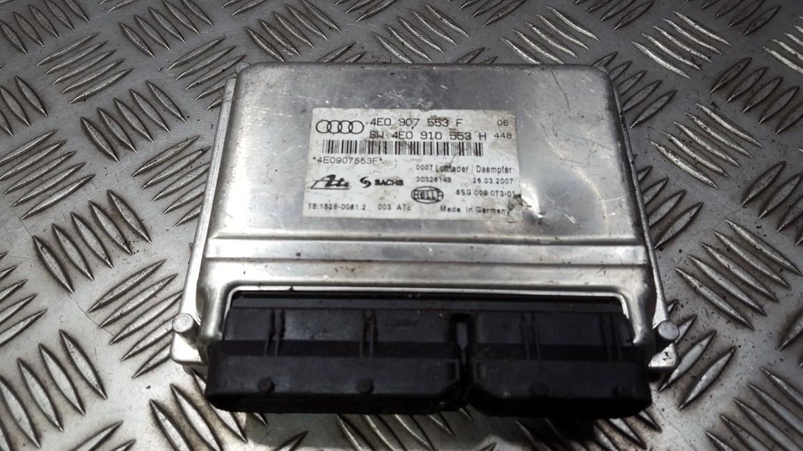 AIR SUSPENSION CONTROL MODULE AIRMATIC Audi A8 2005    3.0 4E0907553F