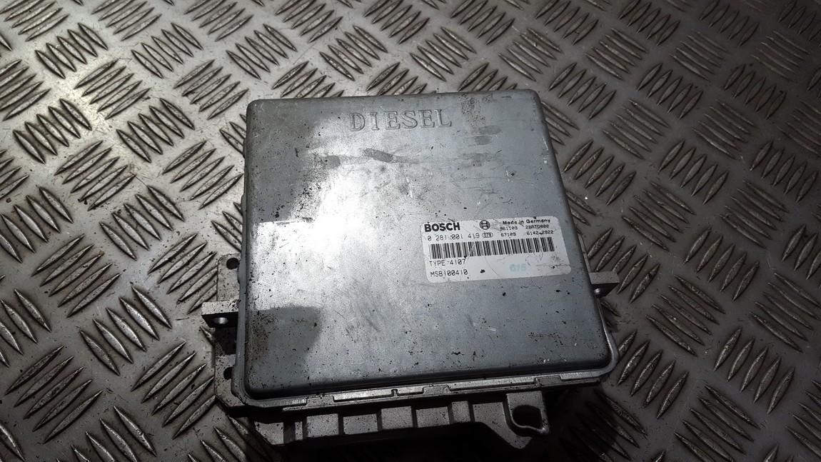 Блок управления двигателем 0281001419 msb100410 Honda ACCORD 2000 2.0