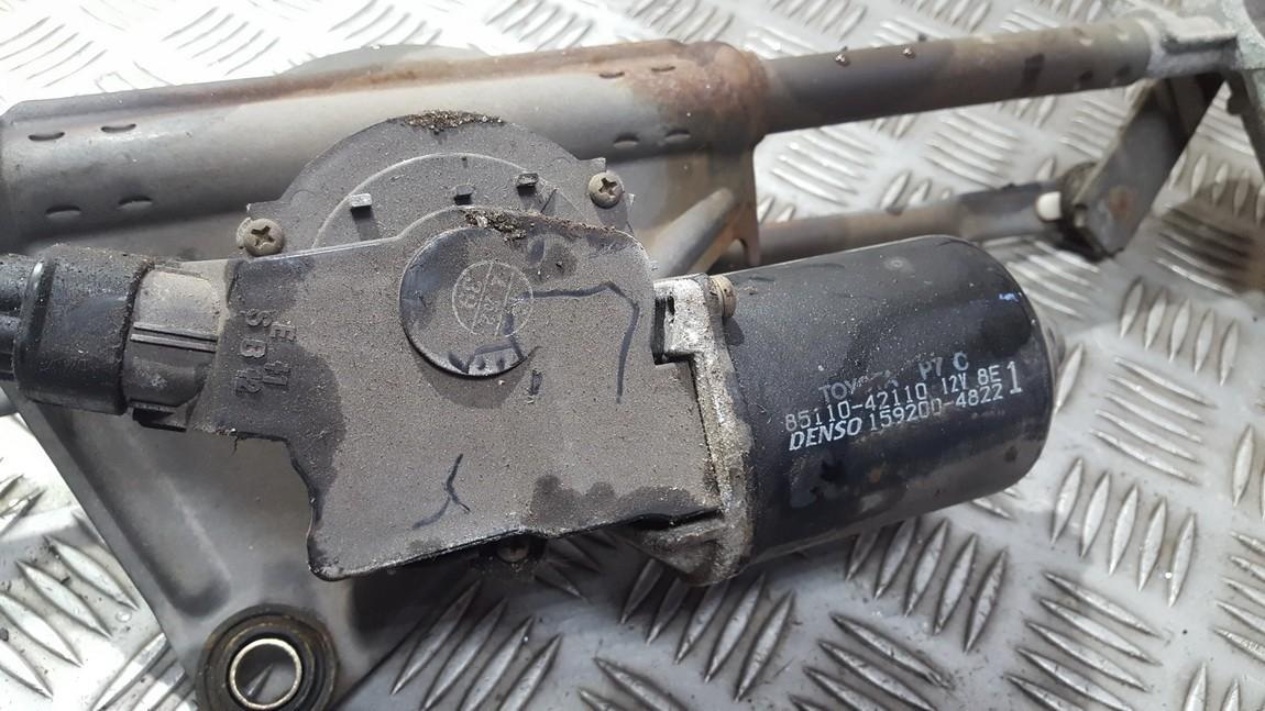Моторчик стеклоочистителя передний 8511042110 85110-42110 159200-4822 Toyota RAV-4 2006 2.2