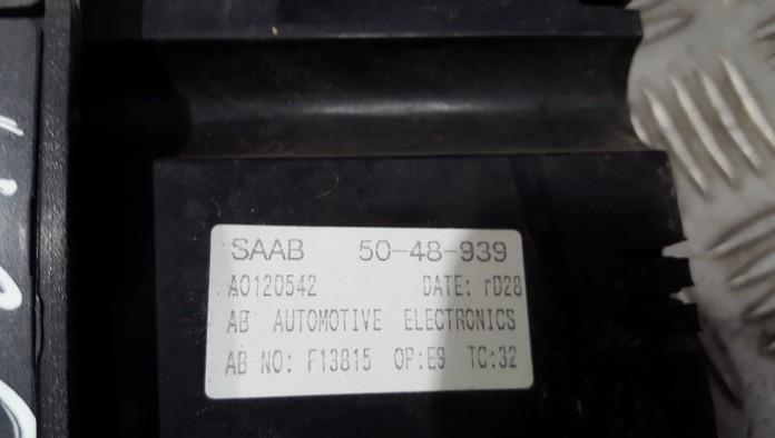 SAAB 95 CLIMATE CONTROL PANEL 5048939