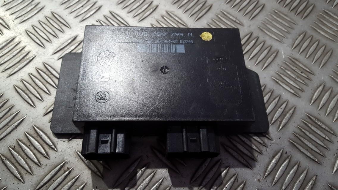 Komforto blokas 1j0959799n 5dk007954-50 Volkswagen GOLF 1998 1.9
