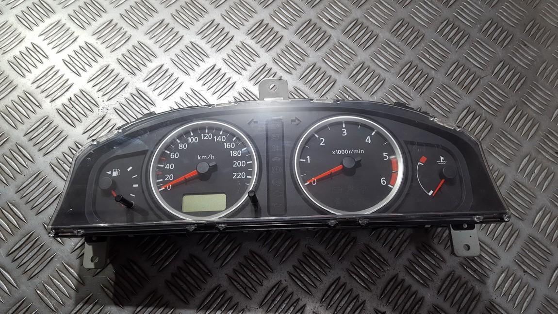 Spidometras - prietaisu skydelis 3x49097 bn813 Nissan ALMERA 2003 1.5