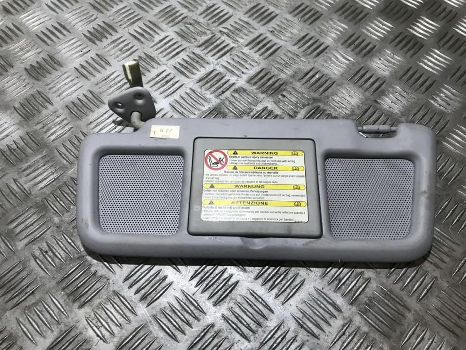 Apsauga nuo saules used used Mazda RX-8 2005 2.6