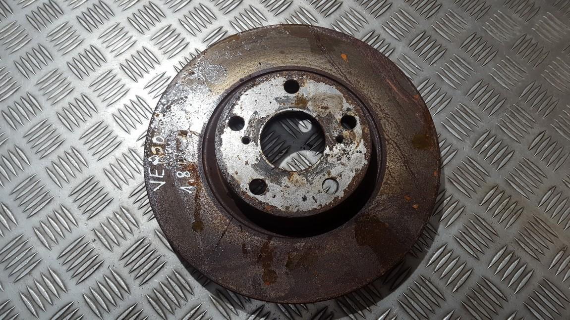 Priekinis stabdziu diskas used used Toyota COROLLA VERSO 2008 2.2