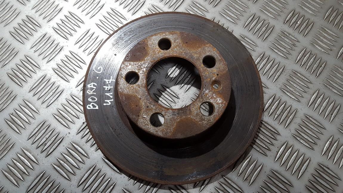 Brake Disc - Rear used used Volkswagen BORA 2001 1.9