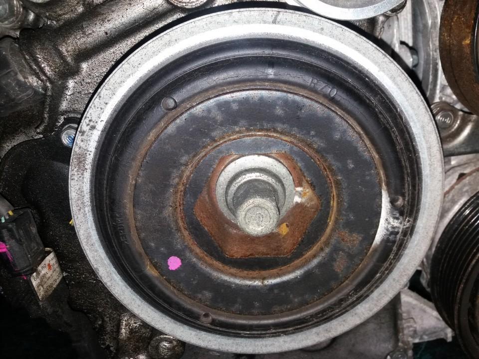 Alkuninio veleno dantratis (skyvas - skriemulys) USED   Honda CIVIC 2007 2.2