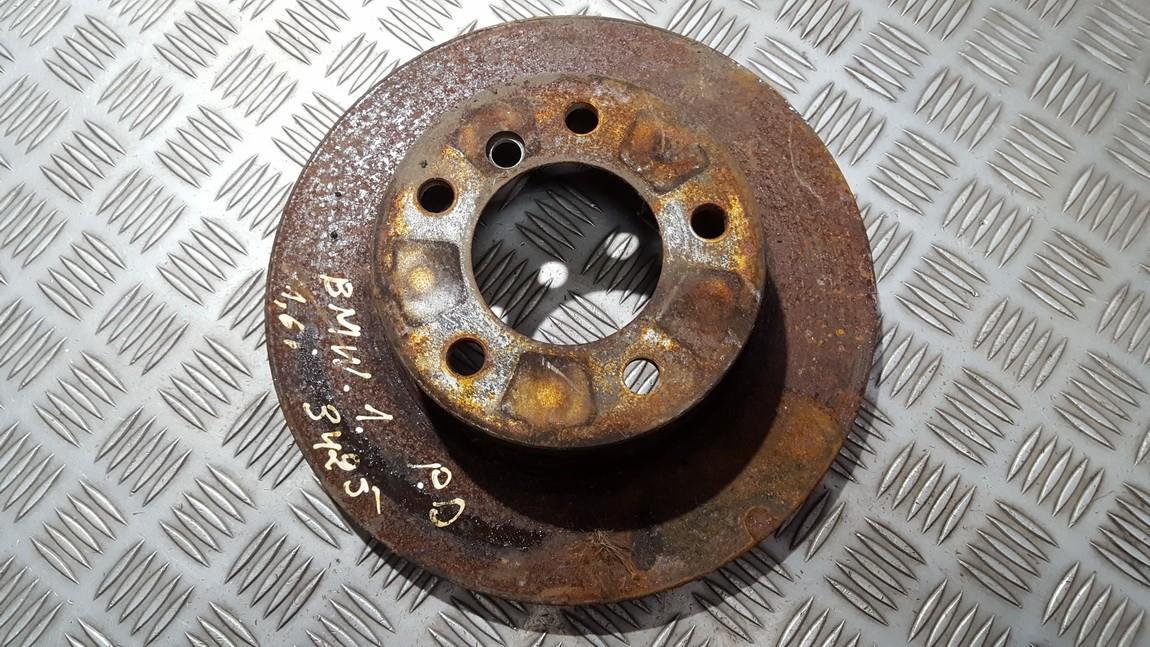 Priekinis stabdziu diskas used used BMW 1-SERIES 2005 1.8