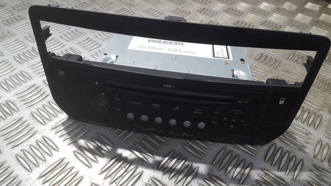 Automagnetola 9663080277 96630802zd Citroen C5 2001 2.0