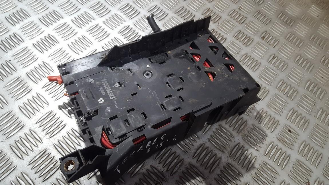 7l0937548a used fuse box volkswagen touareg 2004 0 0l 27eur eis00511762