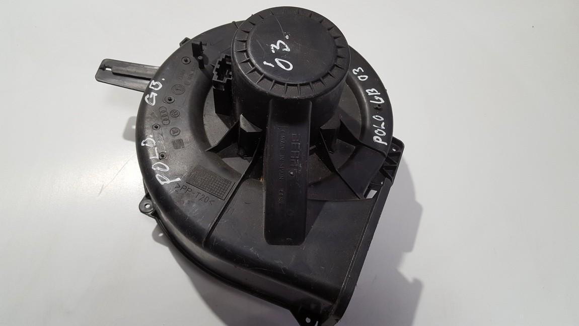 Salono ventiliatorius 6q2813015 used Volkswagen POLO 1998 1.4