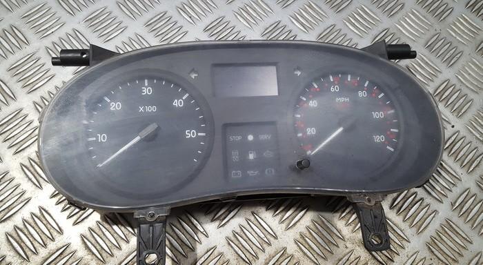 Spidometras - prietaisu skydelis p8200360575h p8200360575 21678791-0 Renault MASTER 2005 2.5