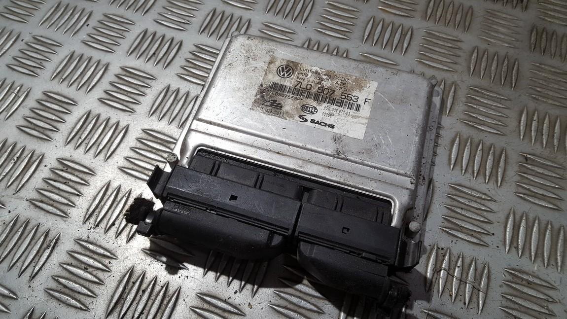 Блок управления АКПП 7L0907553F 5SG009073-03 15.1528-0065.2 Volkswagen TOUAREG 2003 2.5