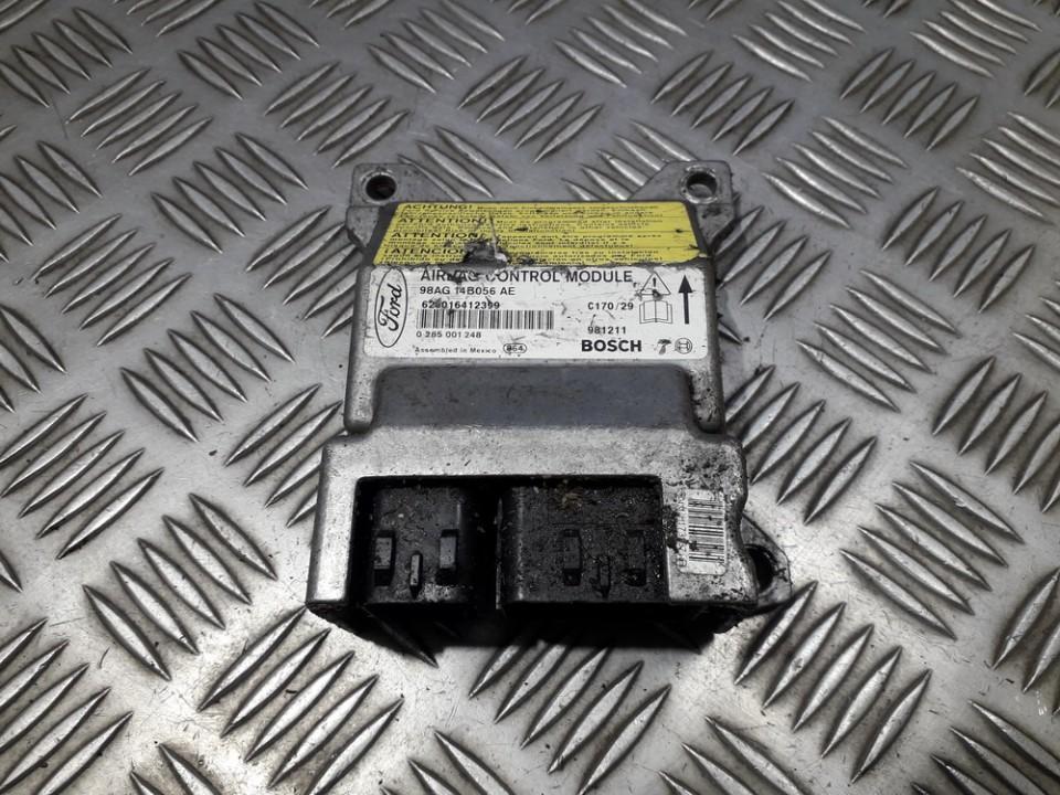 Airbag crash sensors module 98AG14B056AE 0285001248 Ford FOCUS 2001 1.8