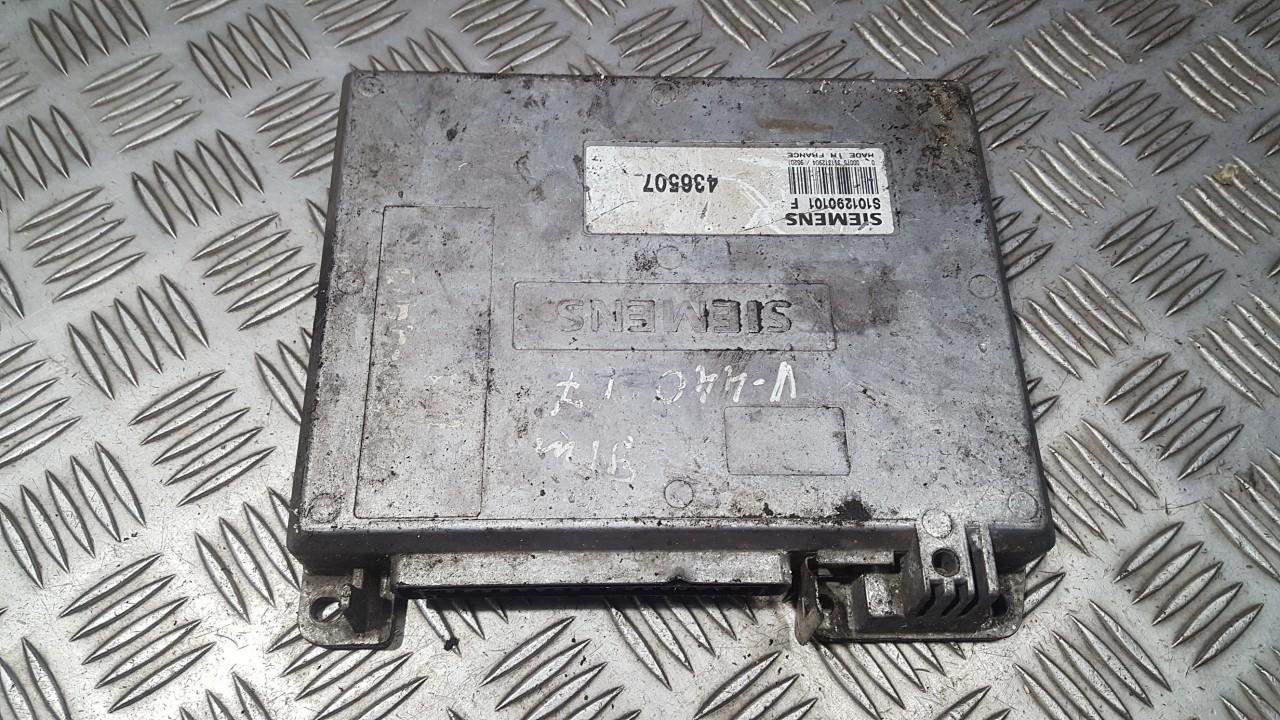 Блок управления двигателем S101290101 436507 Volvo 440 1994 2.0