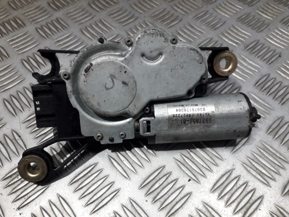 Galinio lango valytuvu varikliukas 692785101 6927851-01, B3078170304, 4027228 BMW X5 2005 3.0