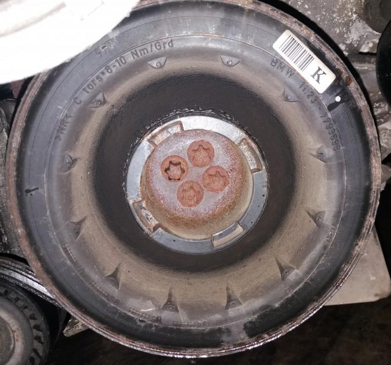 Alkuninio veleno dantratis (skyvas - skriemulys) 11237793593 11.23-7793593 BMW X5 2003 3.0