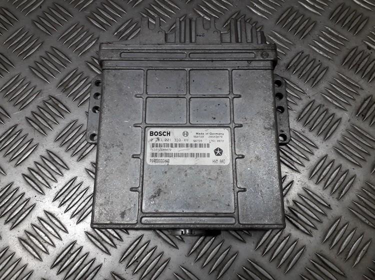 Variklio kompiuteris 0281001333 o04686660ab Chrysler VOYAGER 1996 2.5