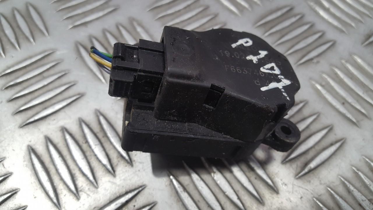 Peciuko sklendes varikliukas F663746XC 190207595 Renault MEGANE 2000 1.6