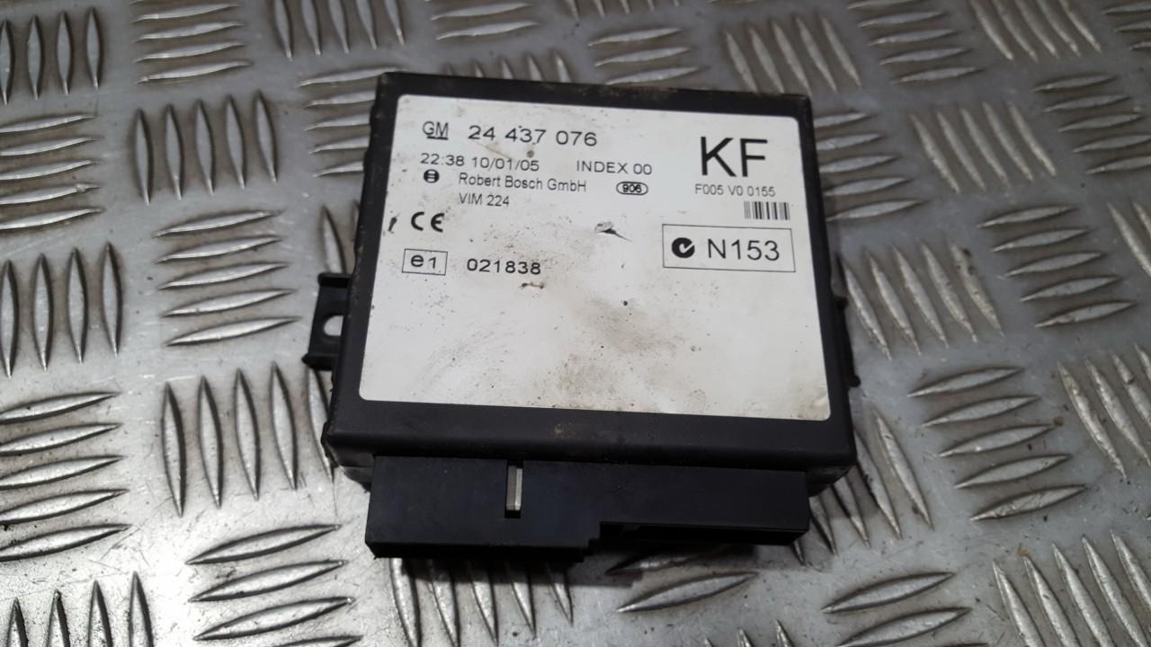 Komforto blokas 24437076 F005V00155 Opel ASTRA 2002 1.7