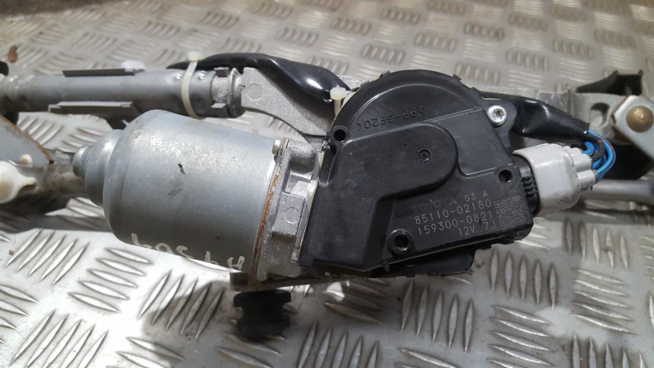 Priekinis langu valytuvu varikliukas 8511002180 85110-02180, 159300-0821 Toyota AURIS 2007 2.0