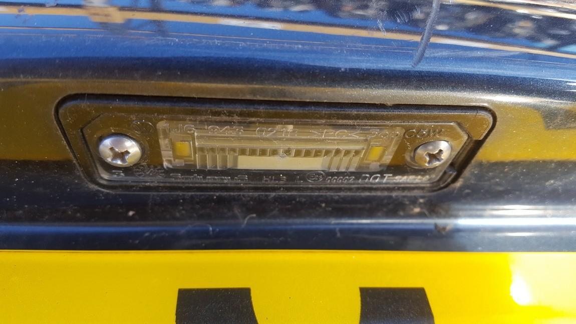 Volkswagen  Golf Numerio apsvietimas