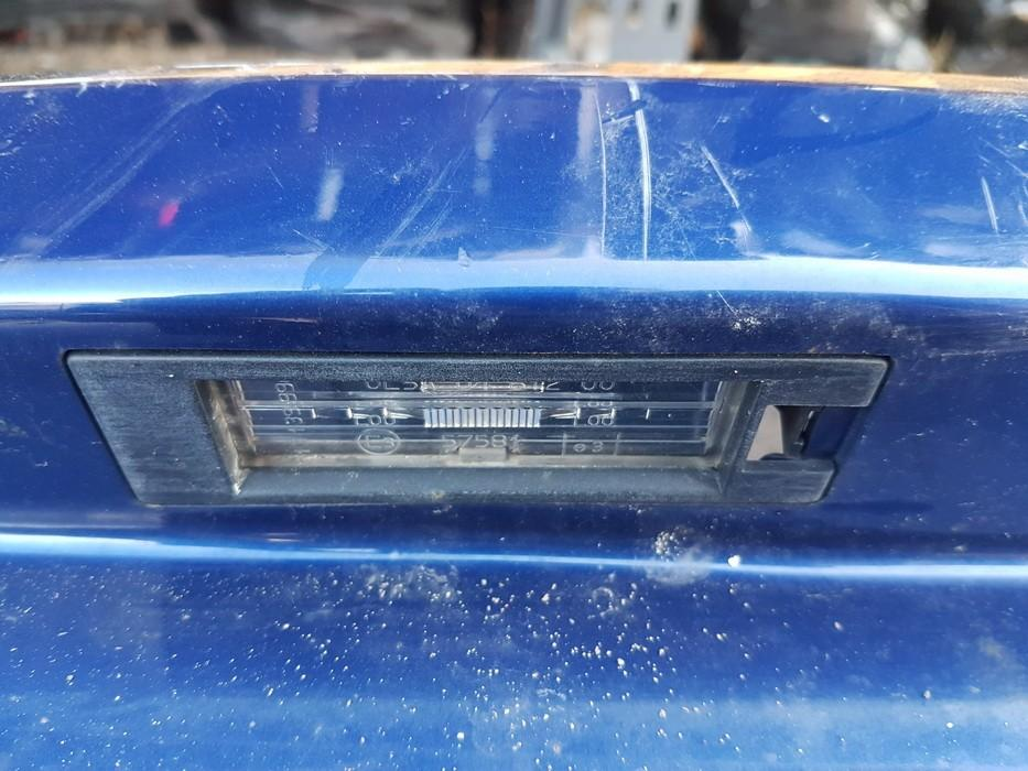 Opel  Astra Rear number plate light