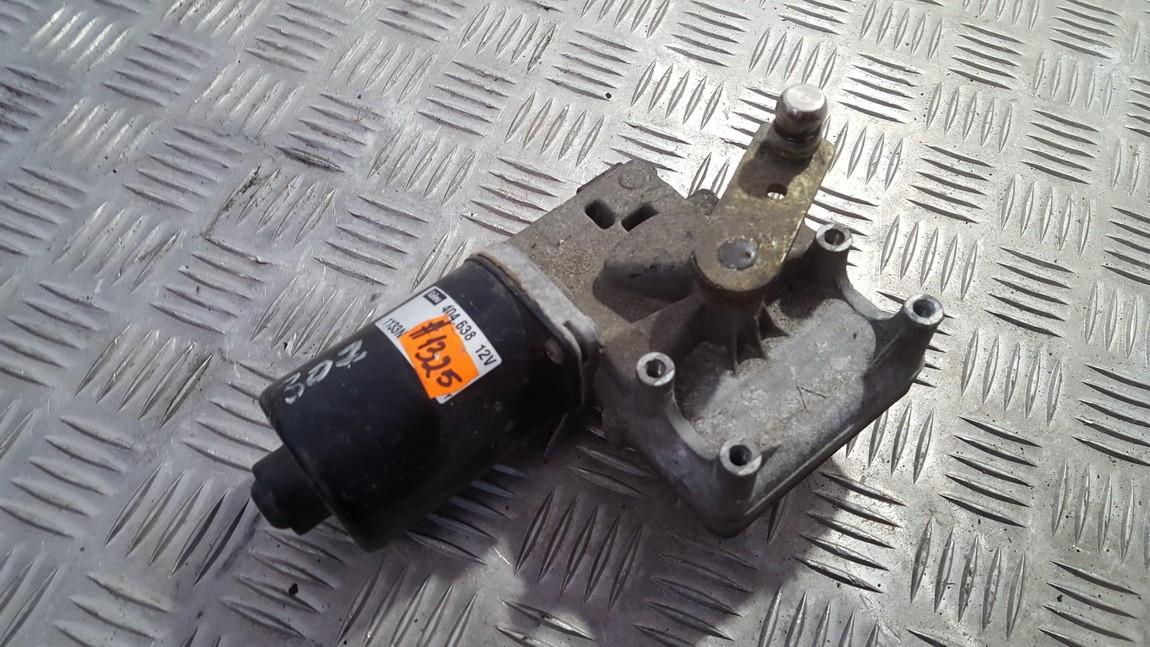 windscreen front wiper motor 404638 used Peugeot 307 2003 2.0