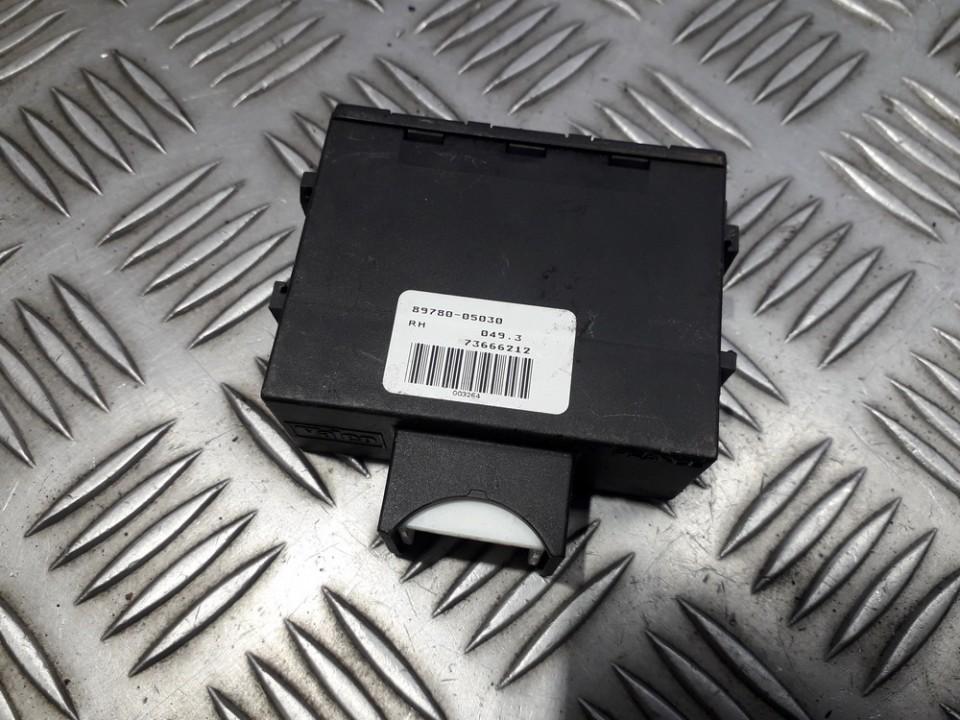 Блок управления иммобилайзера 8978005030 89780-05030, 73666212 Toyota AVENSIS 2010 2.0