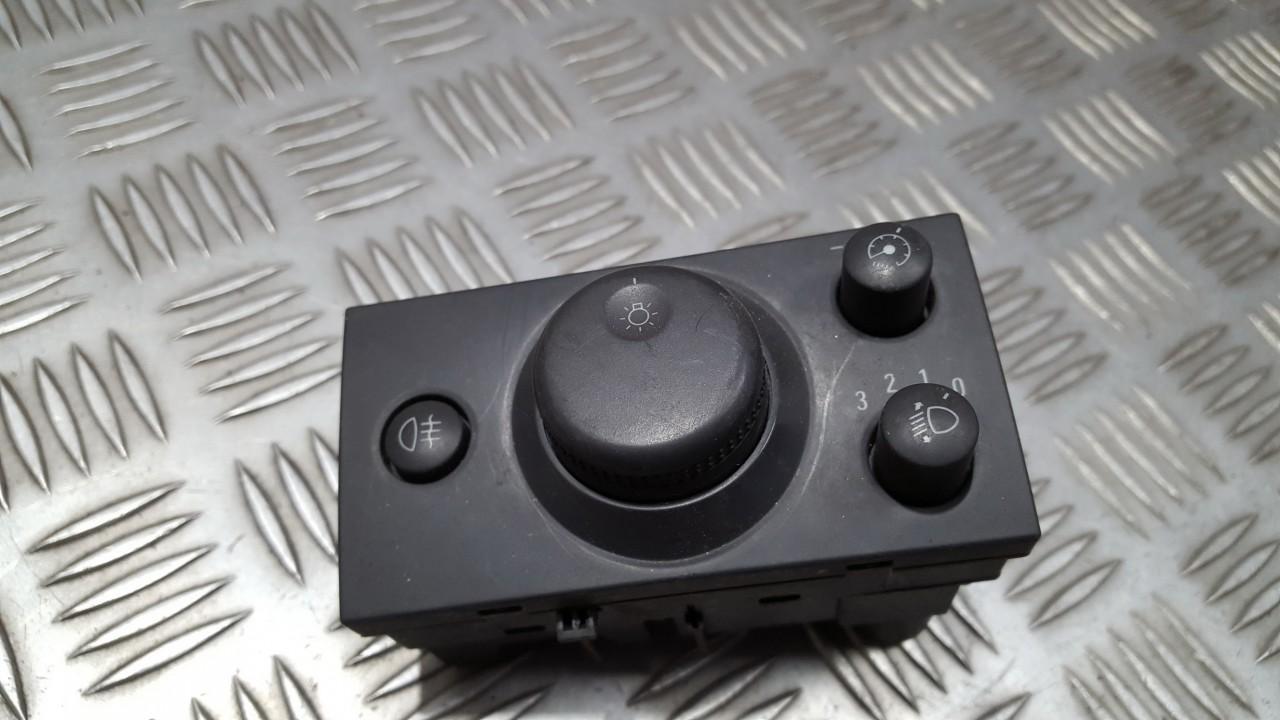 Headlight adjuster switch (Foglight Fog Light Control Switches) 93394756 LK04061015 Opel MERIVA 2005 1.7