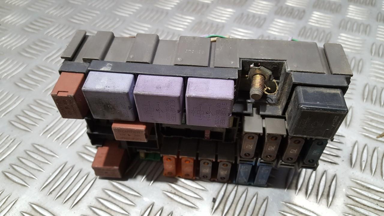 fuse box renault megane, 2002 11 - 2008 11