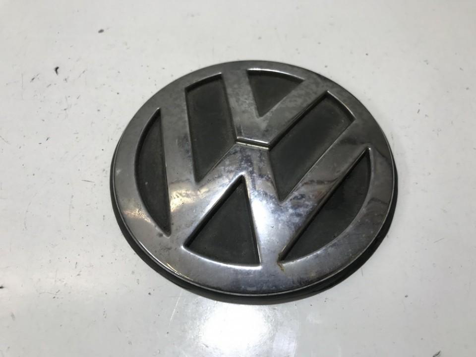 Galinis zenkliukas (Emblema) 1j6853630a 1j6853630b Volkswagen GOLF 1998 1.9