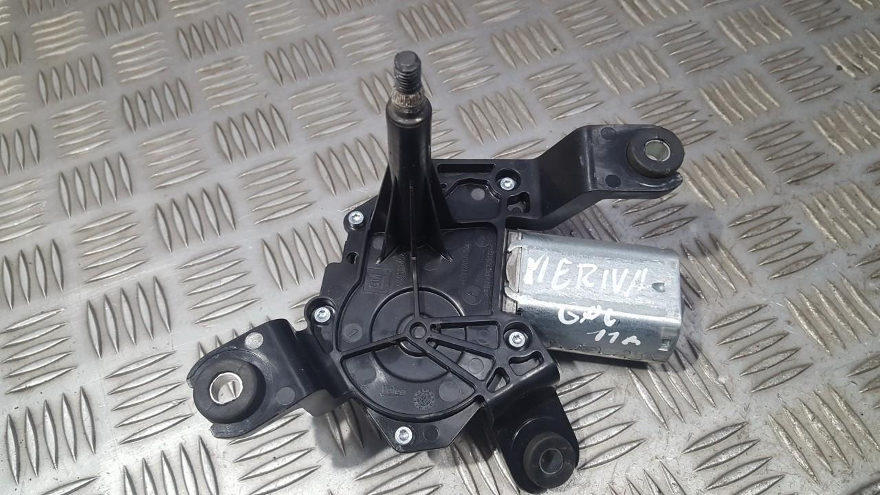 Galinio lango valytuvu varikliukas 13282361 6A-01331205-1, W000013579 Opel MERIVA 2010 1.4