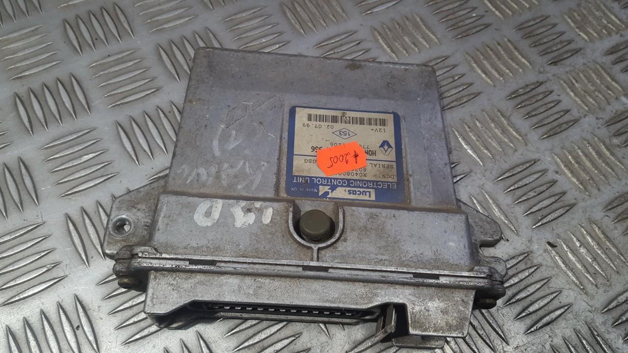 Variklio kompiuteris 7700104956 7700111206 Renault KANGOO 2001 1.9