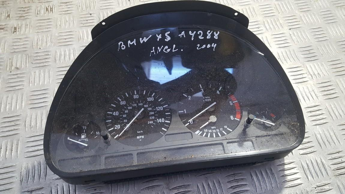 Spidometras - prietaisu skydelis 62116940606 62.11-6940606 a2c53062499 BMW X5 2003 3.0