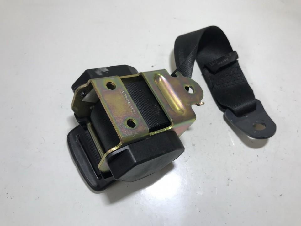 Seat belt - rear right side 040060 used Peugeot 307 2002 2.0