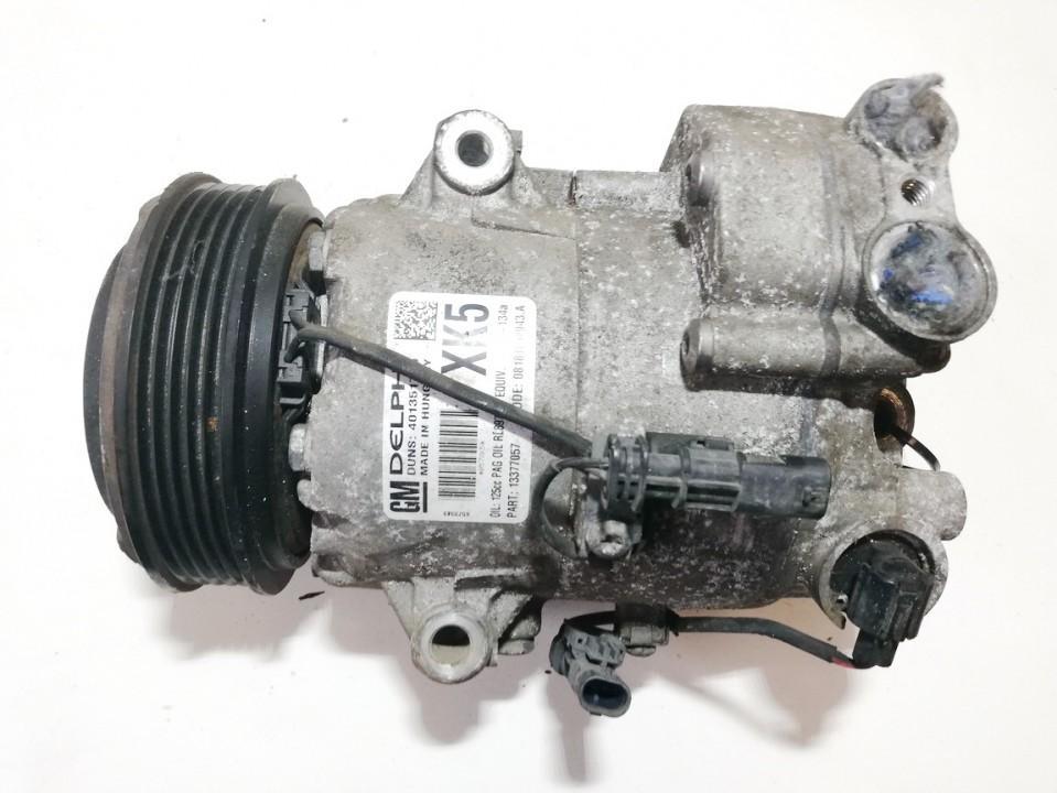 Kondicionieriaus siurblys 401351739 rl897   13377057   08181002943a Opel MERIVA 2011 1.7