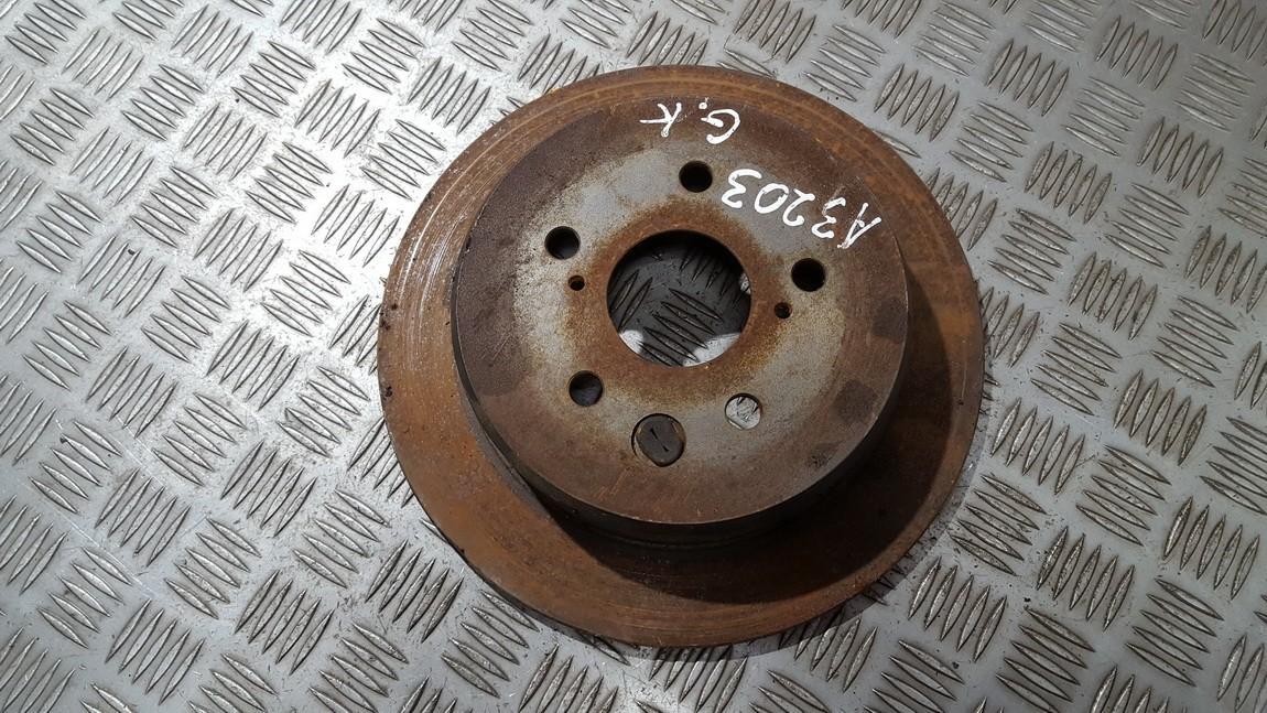 Galinis stabdziu diskas used used Lexus IS - CLASS 2002 2.0