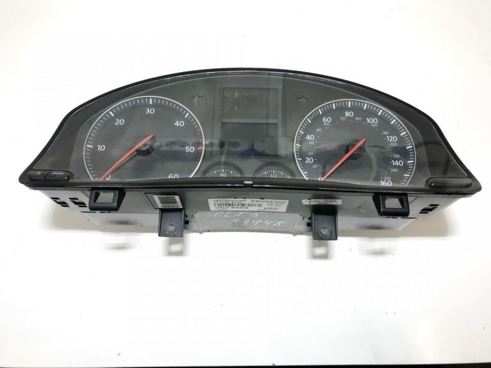 Spidometras - prietaisu skydelis 1k0920962g v0004000, sw4312, hw004, 96019077 Volkswagen GOLF 1998 1.6