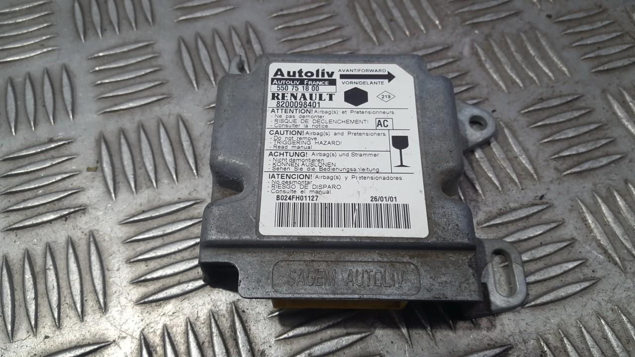 Блок управления AIR BAG  8200098401 550751800 Renault KANGOO 2001 1.9