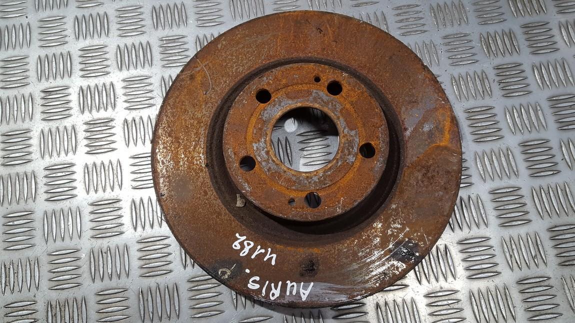 Priekinis stabdziu diskas used used Toyota AURIS 2007 2.0