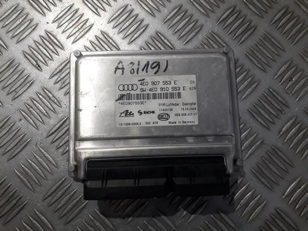 AIR SUSPENSION CONTROL MODULE AIRMATIC Audi A8 2004    4.0 4e0907553e