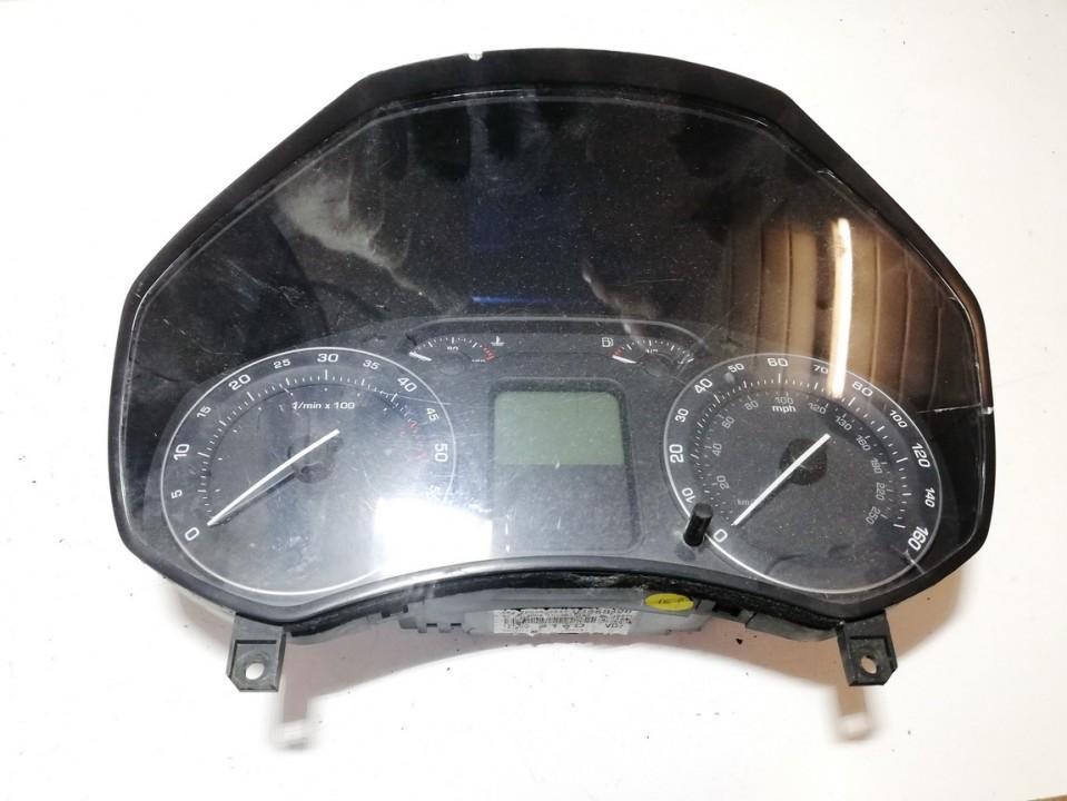 Spidometras - prietaisu skydelis 1z0920910d v3558396, sw036500, hwf03240 Skoda OCTAVIA 2007 2.0