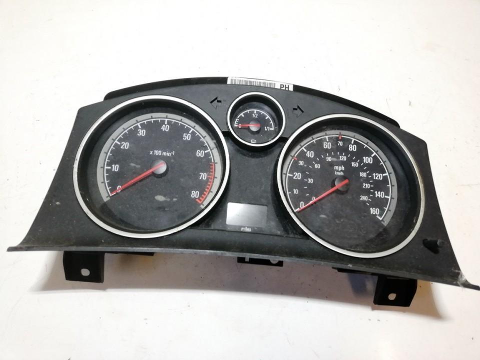 Spidometras - prietaisu skydelis 13216686 used Opel ASTRA 2005 1.6
