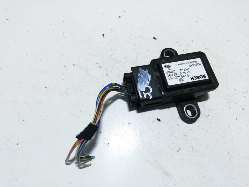 Srs Airbag daviklis 0265005248 34582-6753694  hw0203083   0021418 BMW X5 2004 4.4