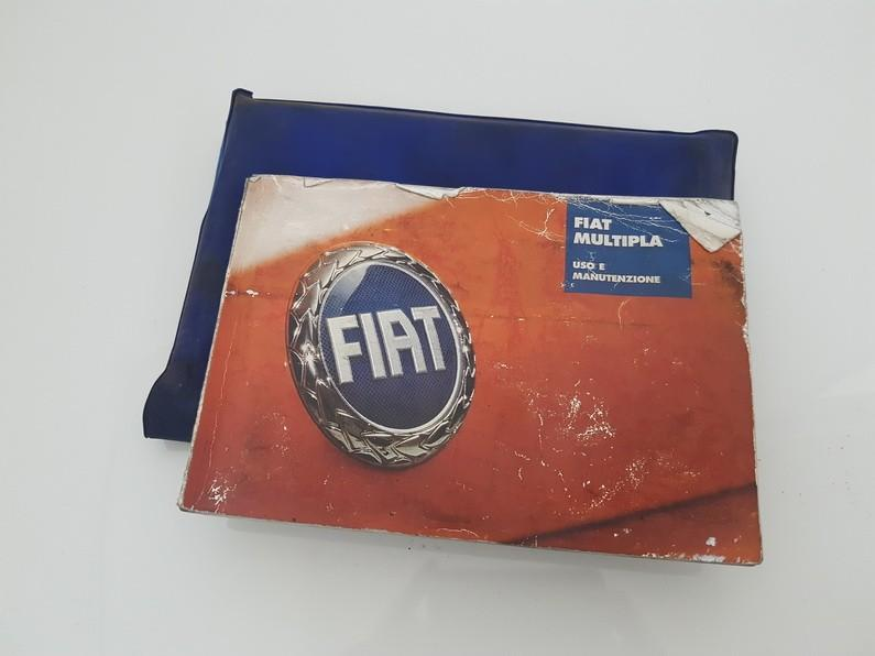 Prieziuros zinynas (Automobilio aptarnavimo knyga) USED USED Fiat MULTIPLA 2001 1.6