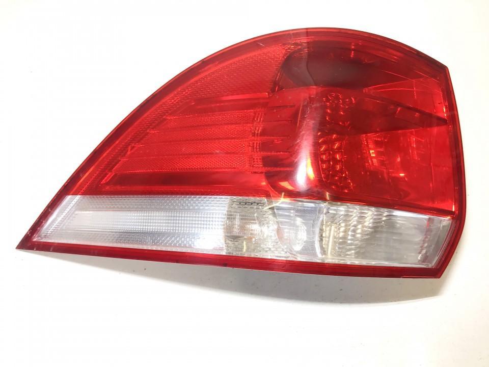 Фонарь задний наружный левый 1k9945095d 1k9945111a Volkswagen GOLF 1987 1.6