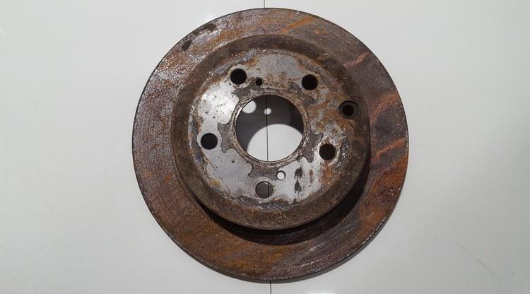 Galinis stabdziu diskas neventiliuojamas used Hyundai TUCSON 2016 1.7