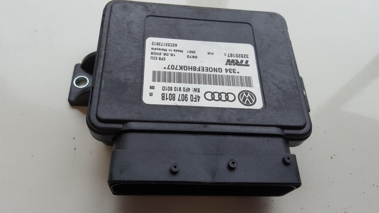 Rankinio stabdzio kompiuteris Audi A6 2005    3.0 4F0907801B